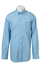 Cinch L/S Mens Fine Weave Shirt 1104026