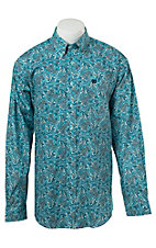 Cinch L/S Mens Fine Weave Shirt 1104027