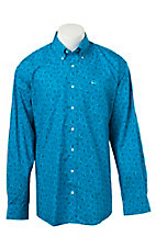 Cinch L/S Mens Fine Weave Shirt 1104032