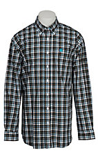 Cinch L/S Mens Fine Weave Shirt 1104036