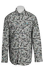Cinch L/S Mens Fine Weave Shirt 1104045