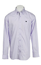 Cinch L/S Mens Fine Weave Shirt 1104052
