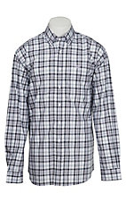 Cinch L/S Mens Fine Weave Shirt 1104053