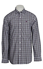 Cinch L/S Mens Fine Weave Shirt 1104054