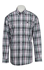 Cinch L/S Mens Fine Weave Shirt 1104056