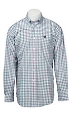 Cinch L/S Mens Fine Weave Shirt 1104058