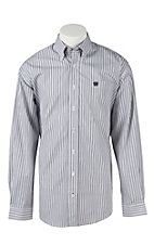 Cinch L/S Mens Fine Weave Shirt 1104059