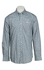 Cinch L/S Mens Fine Weave Shirt 1104067