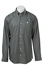 Cinch L/S Mens Fine Weave Shirt  1104069