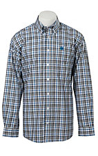 Cinch L/S Mens Fine Weave Shirt 1104070
