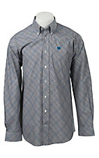 Cinch L/S Mens Fine Weave Shirt 1104071
