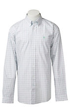 Cinch L/S Mens Fine Weave Shirt 1104072