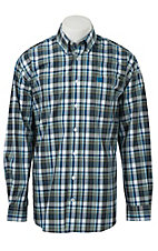 Cinch L/S Mens Fine Weave Shirt 1104074