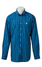 Cinch L/S Mens Fine Weave Shirt 1104075
