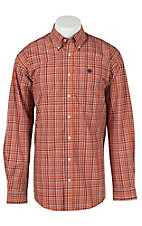 Cinch L/S Mens Fine Weave Shirt 1104105
