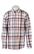Cinch L/S Mens Fine Weave Shirt 1104107