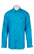 Cinch L/S Mens Fine Weave Shirt 1104117