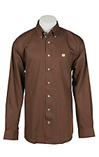 Cinch L/S Mens Fine Weave Shirt 1104118