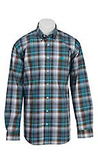 Cinch L/S Mens Fine Weave Shirt 1104121