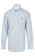 Cinch L/S Mens Fine Weave Shirt 1104123