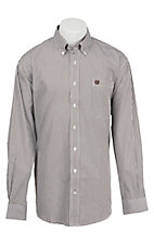 Cinch L/S Mens Fine Weave Shirt 1104125