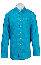 Cinch L/S Mens Fine Weave Shirt 1104126