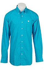 Cinch L/S Mens Fine Weave Shirt 1104127