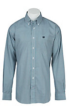 Cinch L/S Mens Fine Weave Shirt 1104128