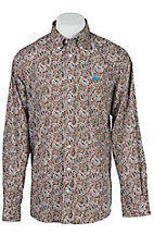 Cinch L/S Mens Fine Weave Shirt 1104130