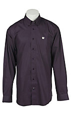 Cinch L/S Mens Fine Weave Shirt 1104132