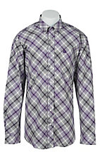 Cinch L/S Mens Fine Weave Shirt 1104133