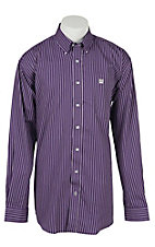 Cinch L/S Mens Fine Weave Shirt 1104137