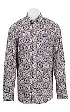 Cinch L/S Mens Fine Weave Shirt 1104139