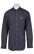 Cinch L/S Mens Fine Weave Shirt 1104140