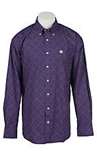Cinch L/S Mens Fine Weave Shirt 1104141