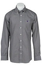 Cinch L/S Mens Fine Weave Shirt 1104142
