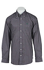 Cinch L/S Mens Fine Weave Shirt 1104143