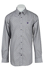 Cinch L/S Mens Fine Weave Shirt 1104144