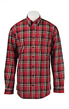 Cinch L/S Mens Fine Weave Shirt 1104149