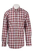 Cinch L/S Mens Fine Weave Shirt 1104150