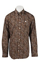 Cinch L/S Mens Fine Weave Shirt 1104157