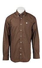 Cinch L/S Mens Fine Weave Shirt 1104159