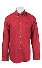 Cinch L/S Mens Fine Weave Shirt 1104160
