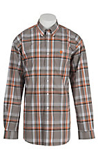 Cinch L/S Mens Fine Weave Shirt 1104165