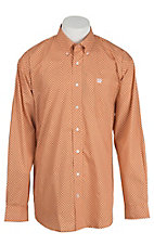 Cinch L/S Mens Fine Weave Shirt 1104168
