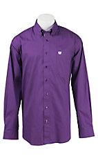 Cinch L/S Mens Fine Weave Shirt 1104175