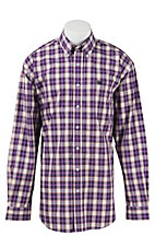 Cinch L/S Mens Fine Weave Shirt 1104178
