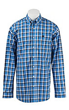 Cinch L/S Mens Fine Weave Shirt 1104182