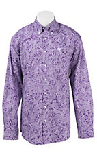 Cinch L/S Mens Fine Weave Shirt 1104185