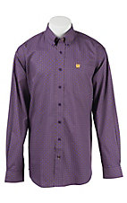Cinch L/S Mens Fine Weave Shirt 1104186
